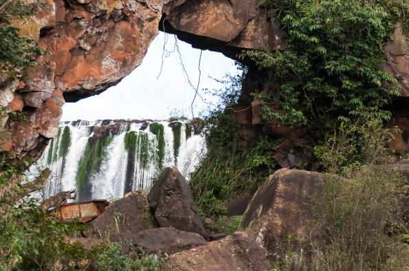 Iguazu ile san martin arche detail