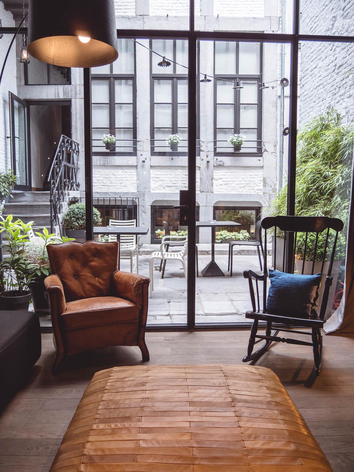 Liège hôtel neuvice salon