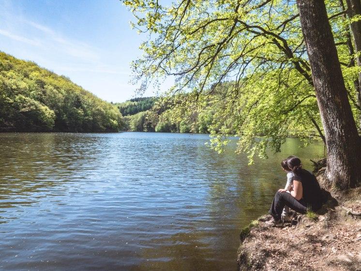 Lac Nisramont laura hélio