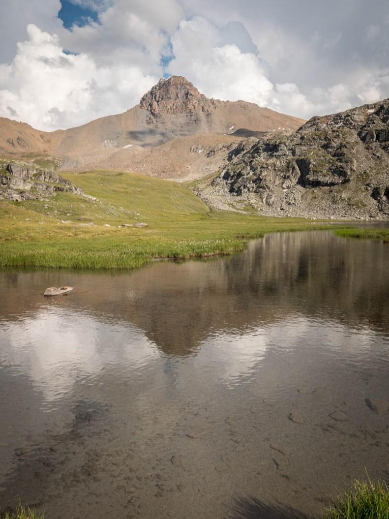 reflet lac du louché vallon de Réchy