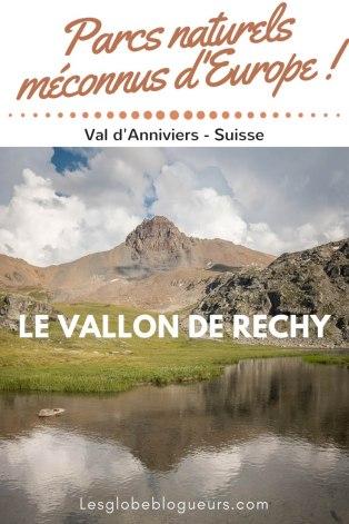 Découvrir le vallon de Réchy, une réserva naturelle méconnue en Suisse dans le Val d'Anniviers.