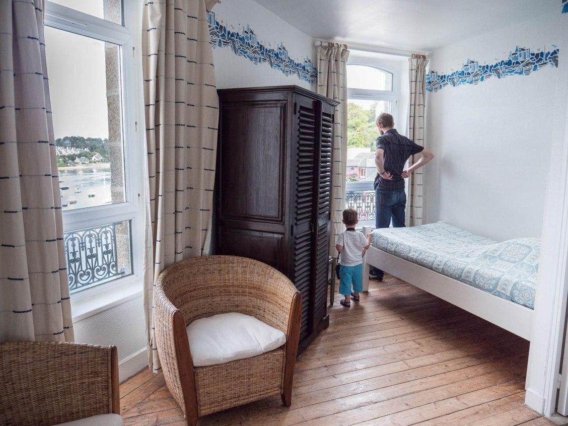 le conquet chambre hotel