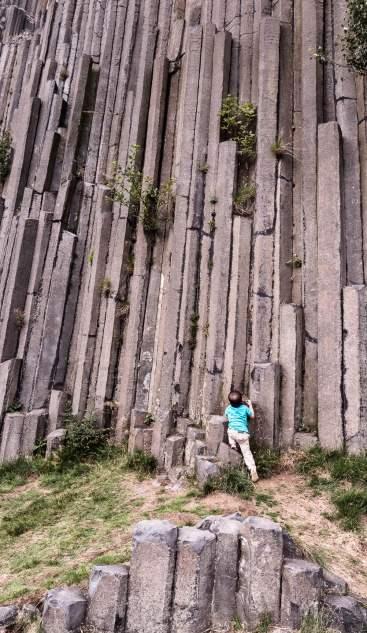 Les orgues basaltiques de Panska skala