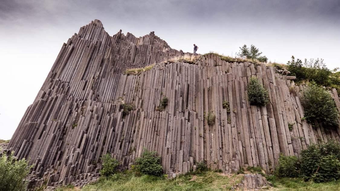 Découverte des plus beaux paysages de bohême. Promontoire à Panska skala en république tchèque