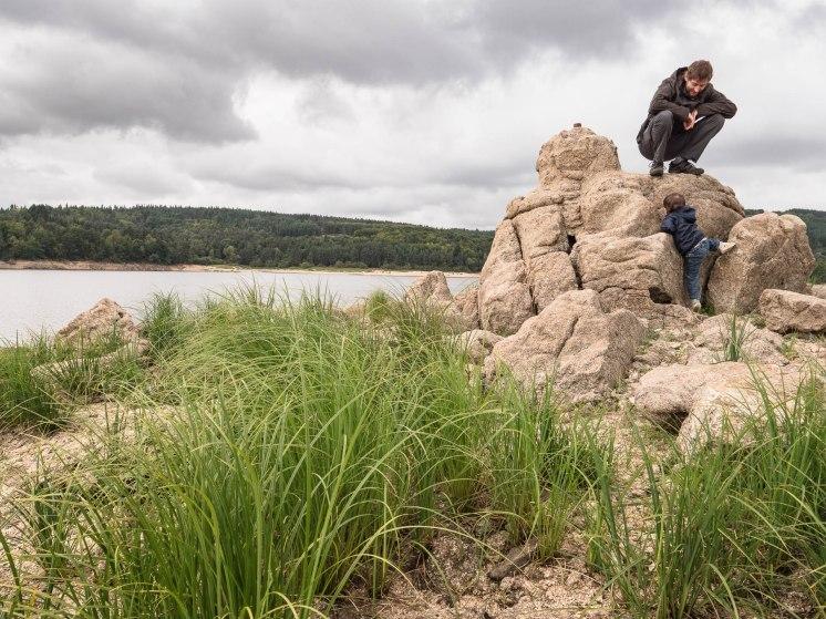 Lac de Lavalette dans le Haut Lignon en Haute Loire