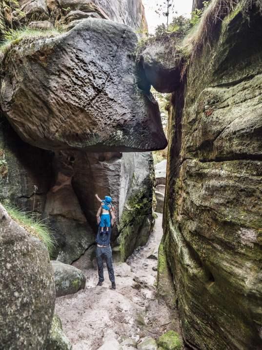 labyrinthe de besedice dans le paradis Tchèque