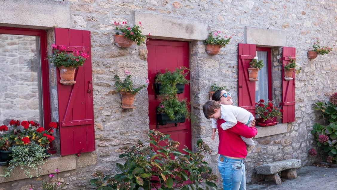 volet coloré maison piriac en loire atlantique