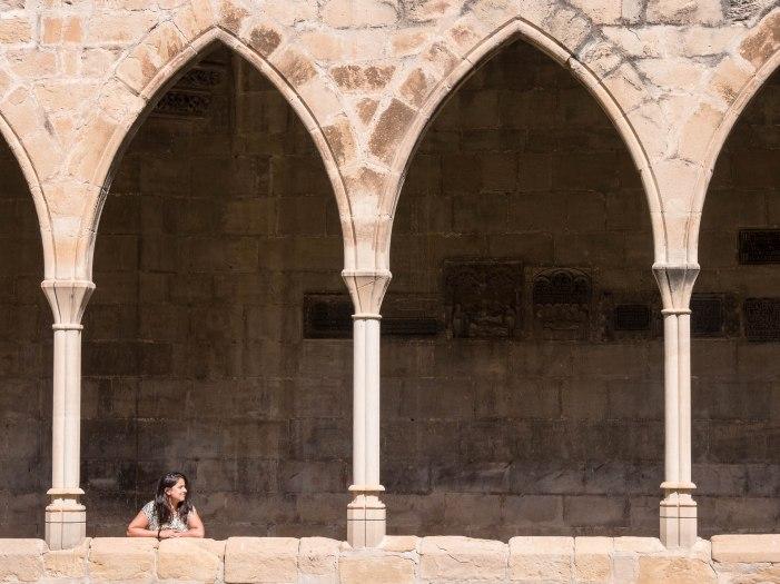 Cour de la cathédrale de Tortosa - Terres de l'Ebre - Catalogne