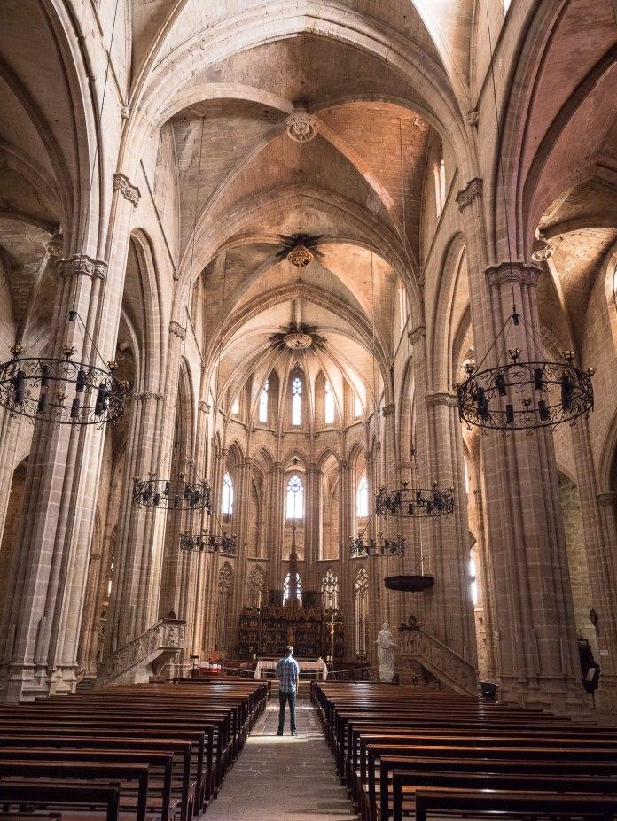 Intérieur de la cathédrale de Tortosa - Terres de l'Ebre - Catalogne