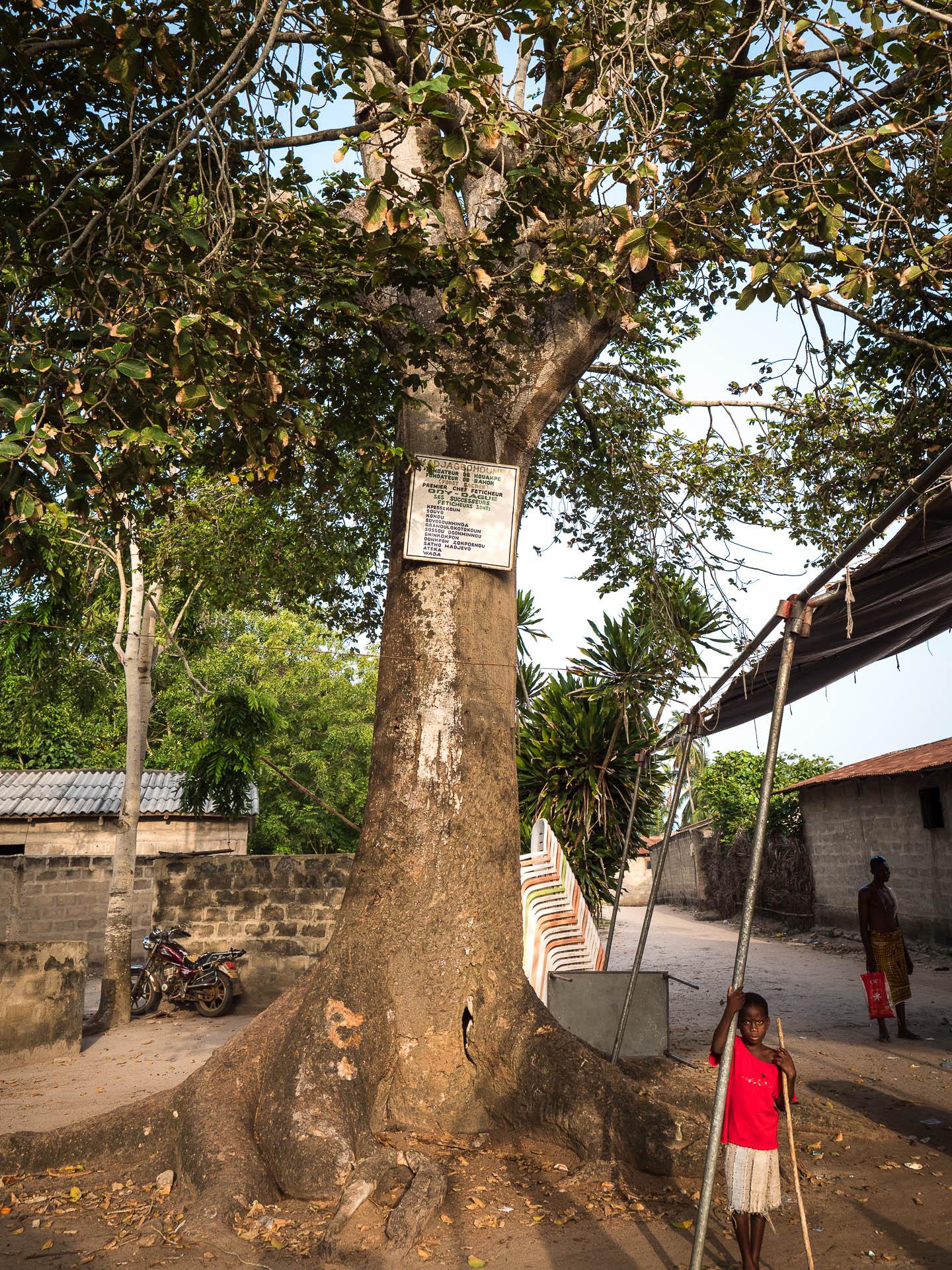 fétiche village de sel ouidah