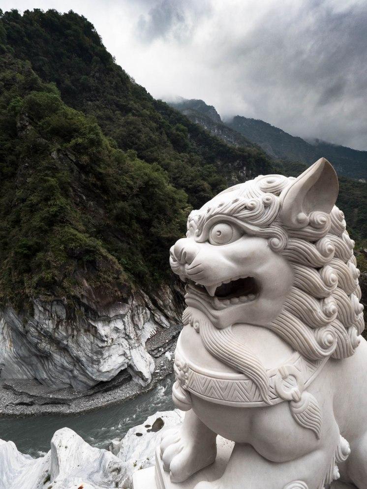 Taroko falaise dragon