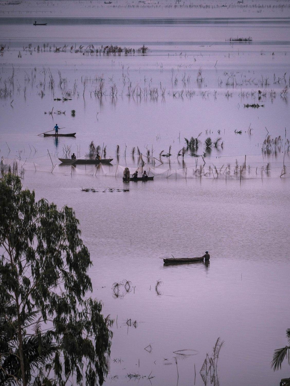 pêcheurs lac Ahémé Bénin