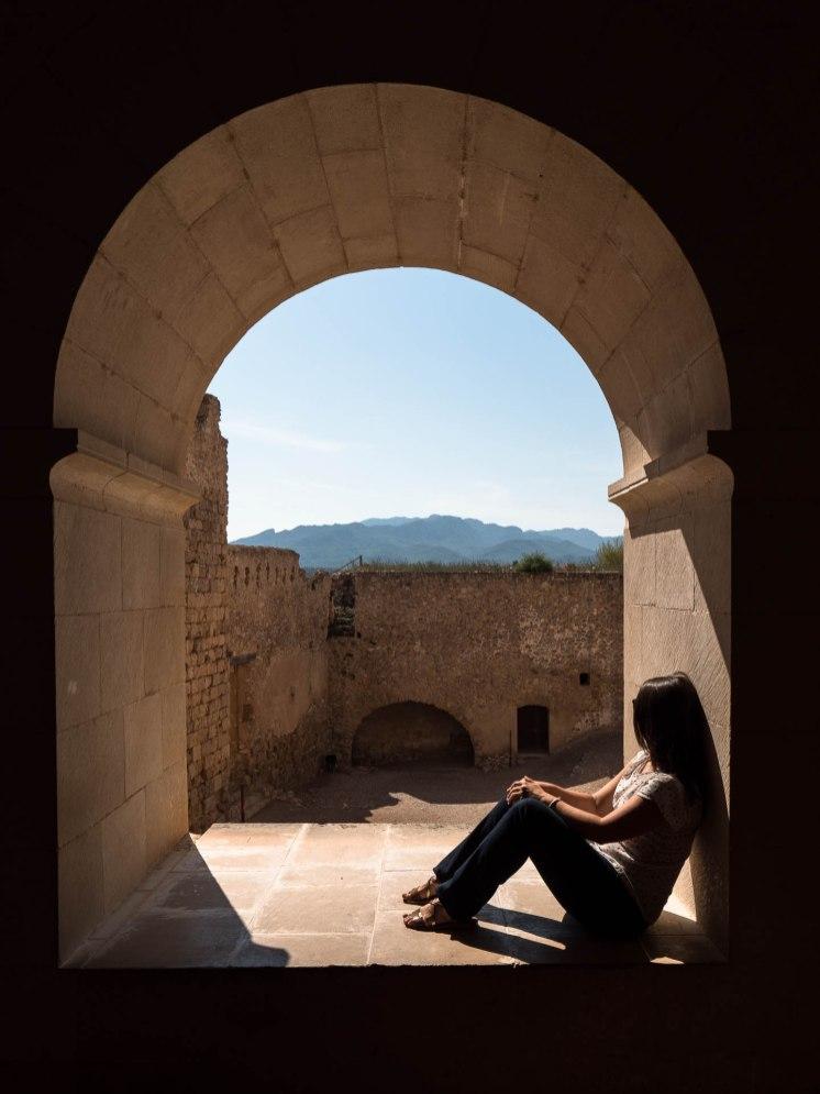 château de Miravet terres de l'ebre catalogne