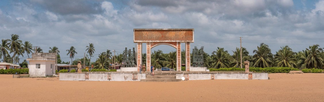 porte du non retour à Ouidah