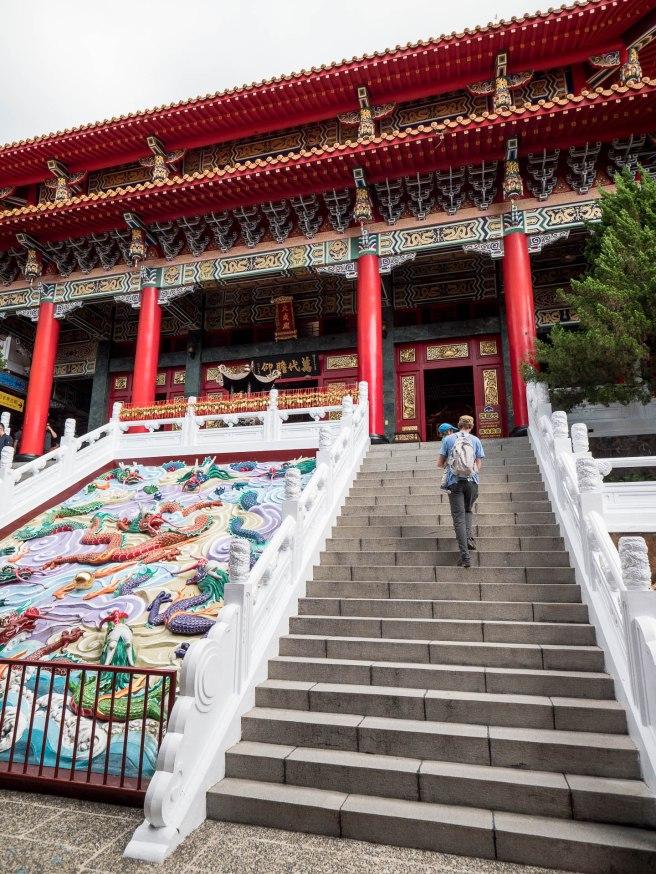 temple wenwu sun moon lake