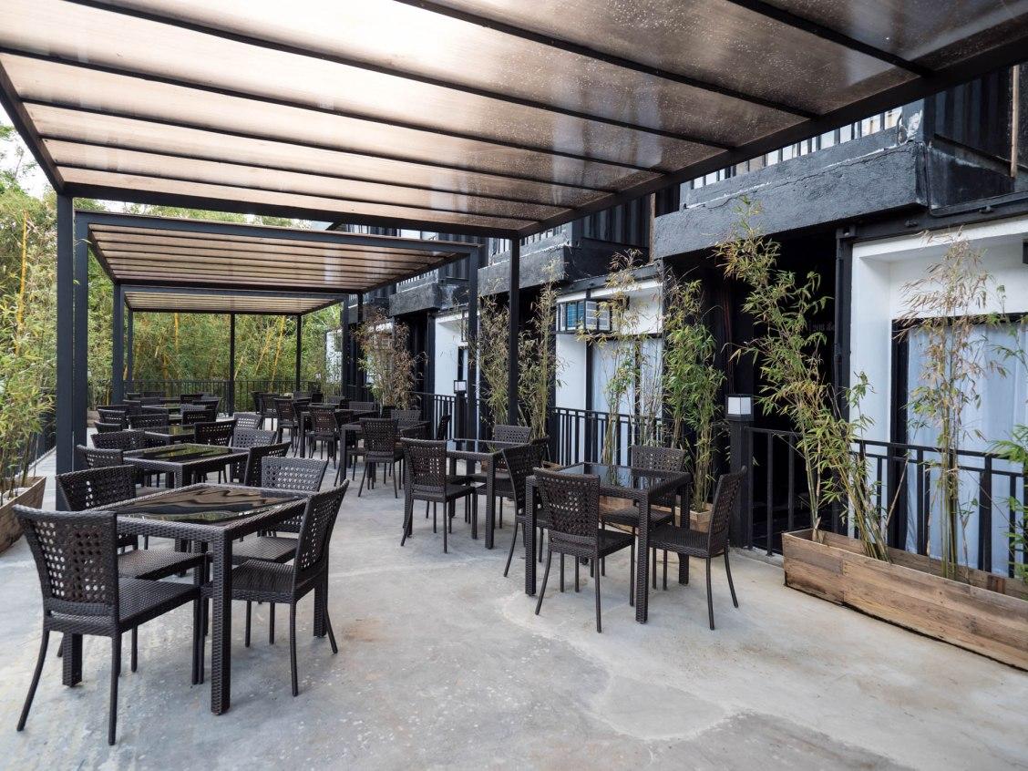 Tagaytay eco hotel salle à manger