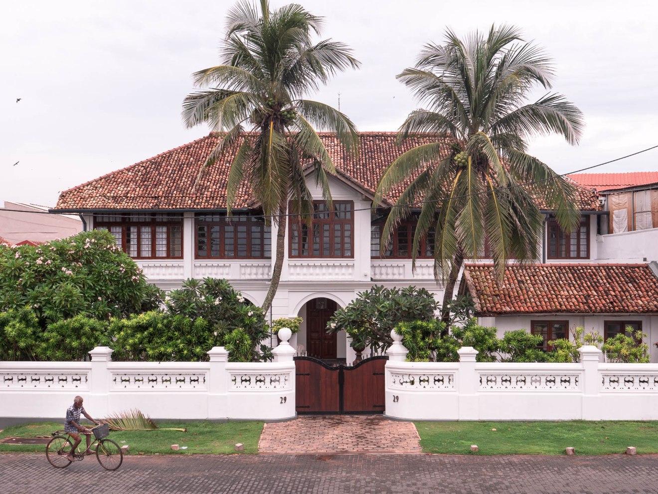 maison coloniale galle Sri lanka