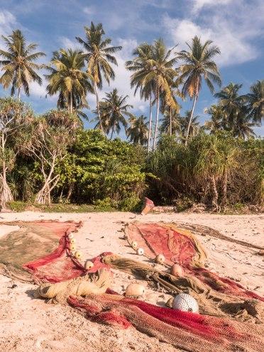 Talalla pêche filets cocotier