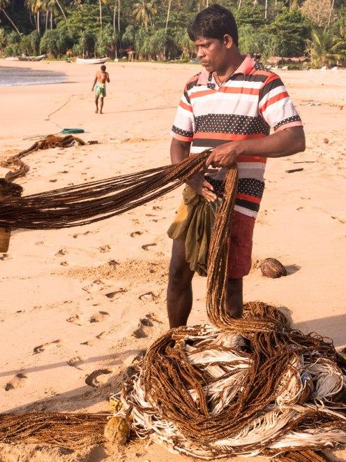 Talalla pêche filets
