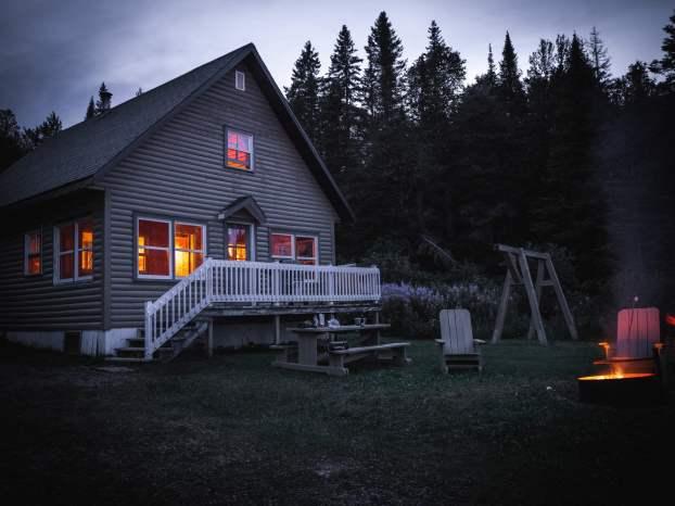 Chalet canadien en Gaspésie