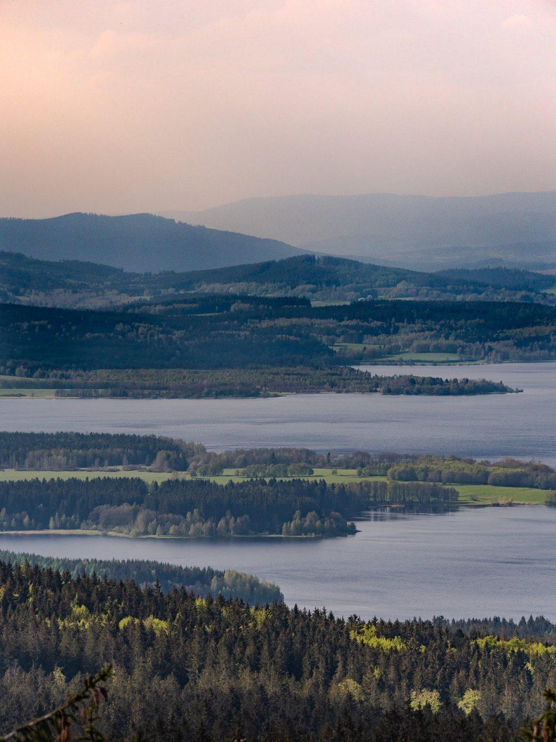lac parc national de Sumava en République Tchèque, Bohême du sud
