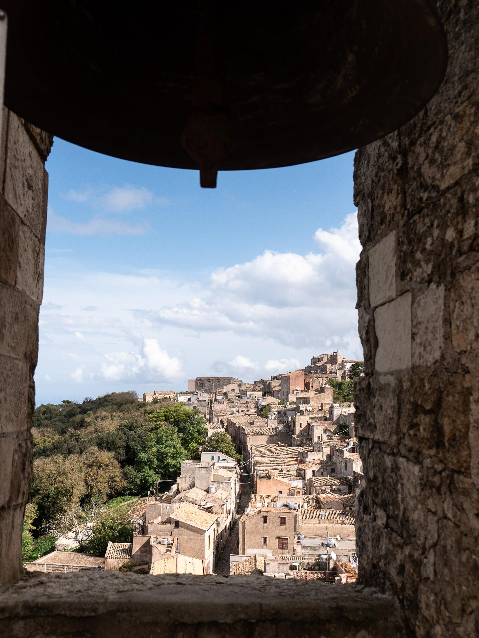 Sur les hauteurs d'Erice en Sicile