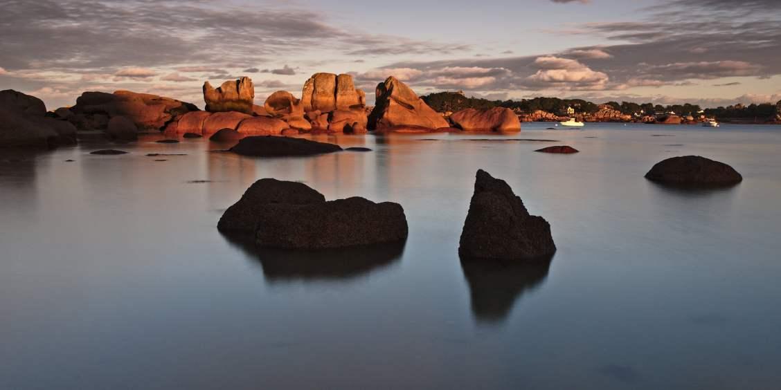Que faire en Bretagne, visite cote de granit rose