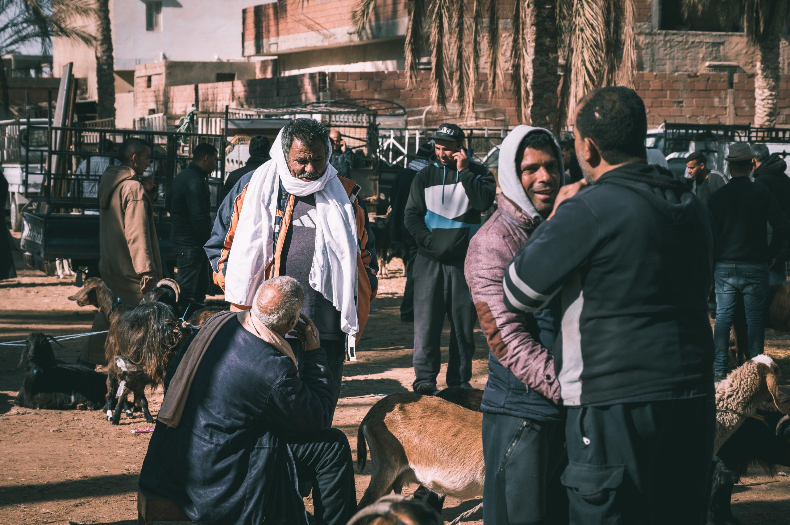 Marché Douz Tunisie