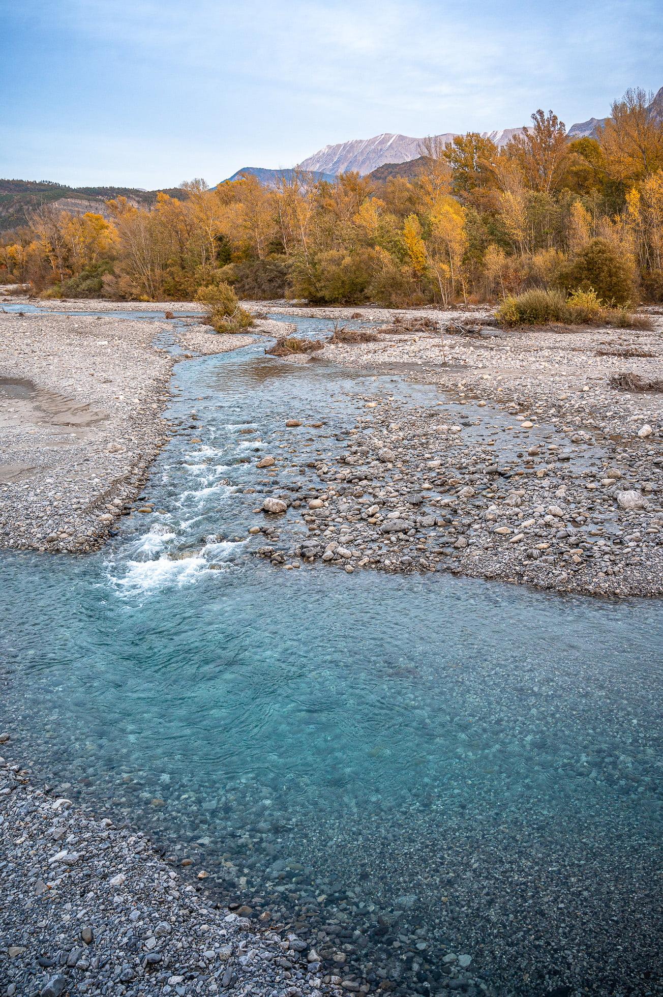 Paysage des Alpes de Haute Provence