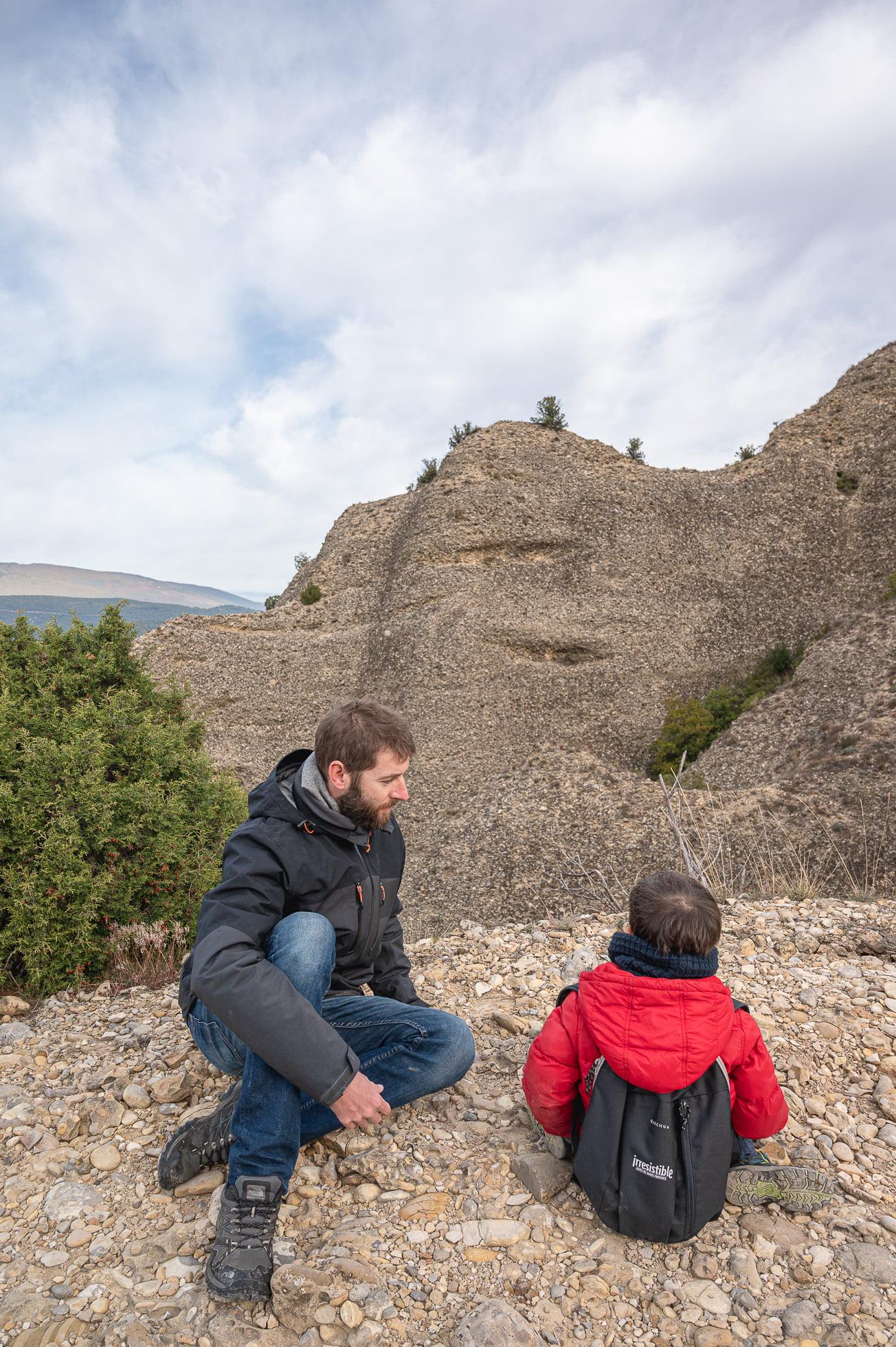 Visiter les alpes de haute provence, les pénitents des mées