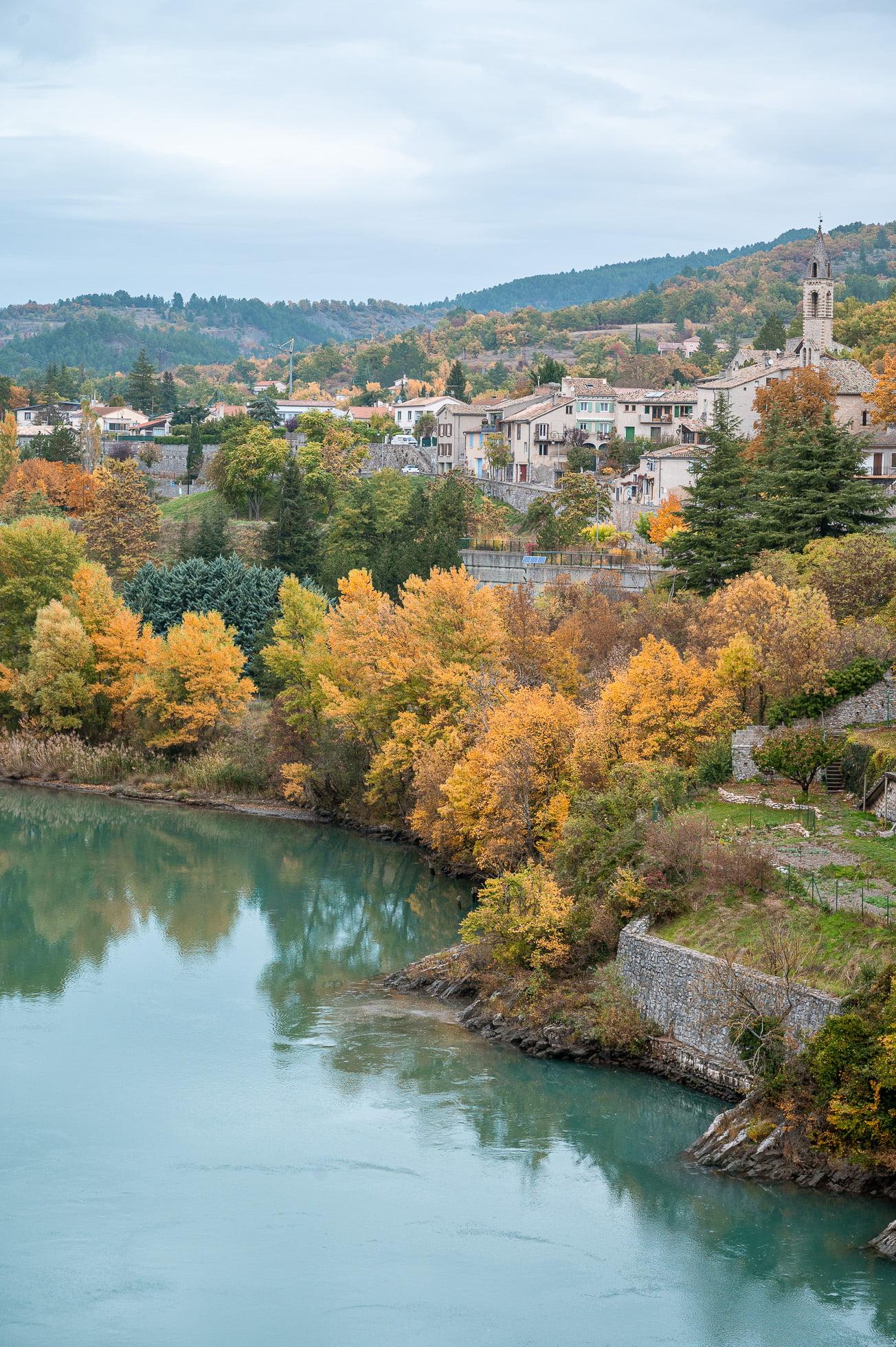 Road trip alpes de haute provence Sisteron