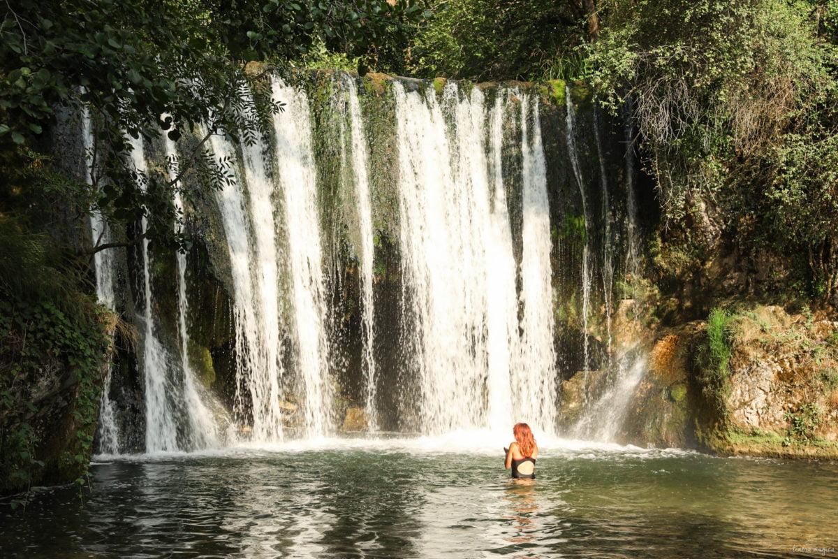 visiter de la Drome - cascade blanche