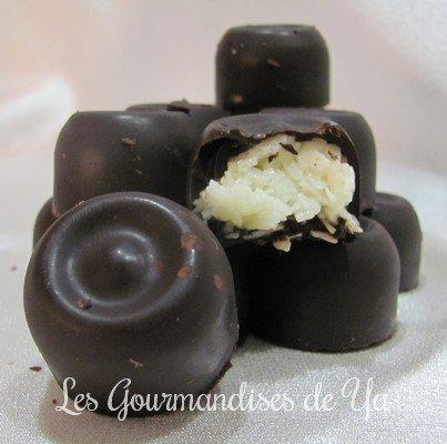 Chocolats façon bounty LGY
