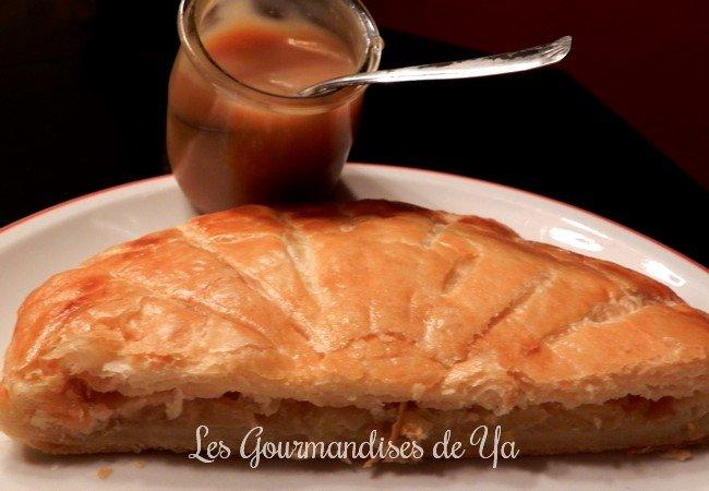 Galette des Rois : pomme-caramel beurre salé LGY 02