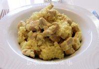 Dinde et riz au curry et lait de coco