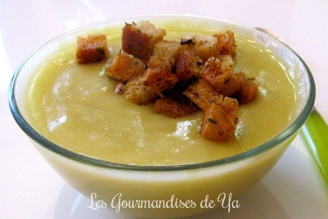 Soupe poireaux - pommes de terre LGY