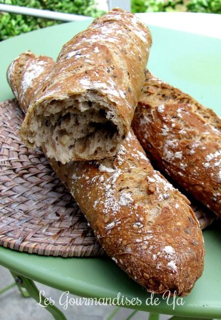 Baguettes aux céréales LGY