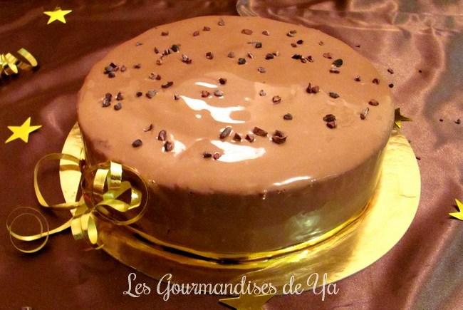 Entremet chocolat - caramel beurre salé [Aurélien TROTTIER] LGY