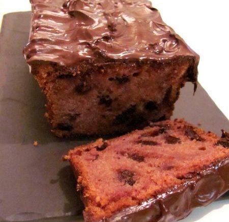 Cake framboise - chocolat LGY