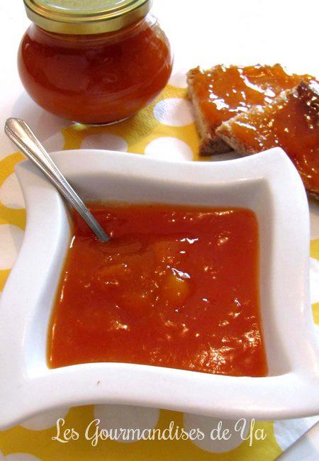 Confiture abricot, pêche et mangue LGY