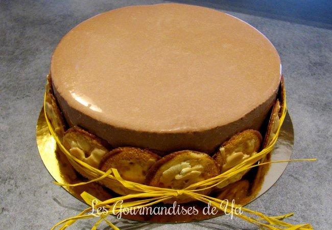 Entremets chocolat - praliné LGY 01