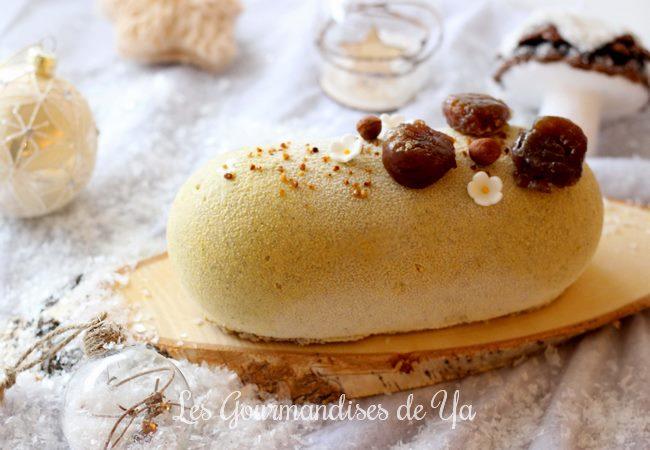 Bûche marron, vanille et noisette 03 LGY