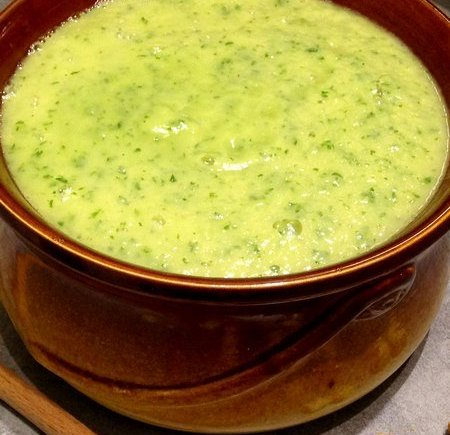 Soupe panais, poireau et persil LGY