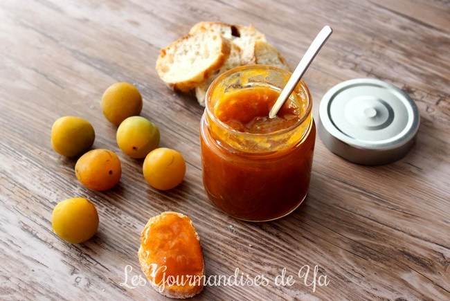 Confiture prune vanille LGY