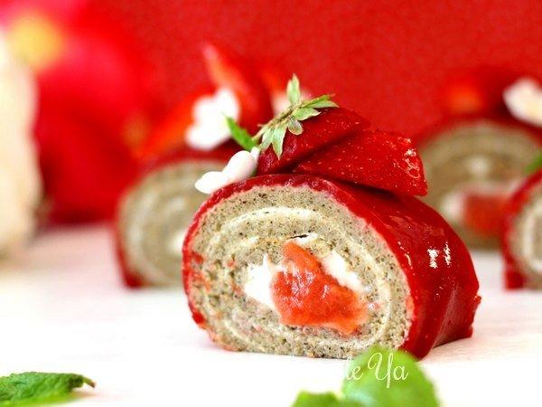 Roulé fraise - framboise LGY