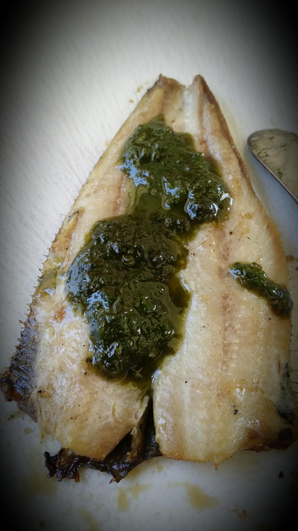 Sardines grillées au pesto