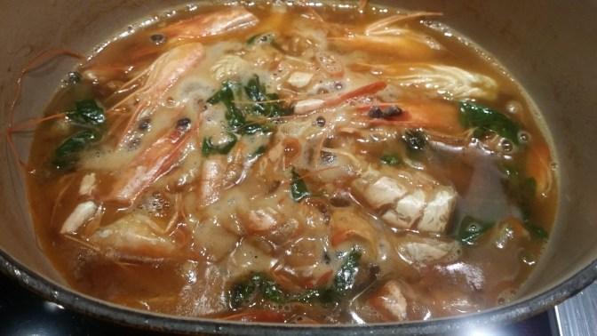 Sauce crustacés