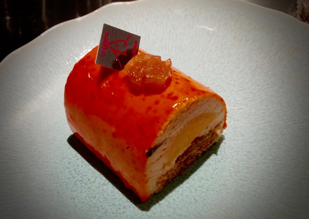 version abricot, crémeux vanille, marron,...