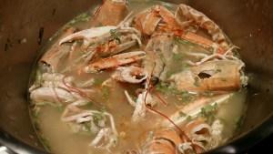 Carcasses pour une bonne sauce crustacés