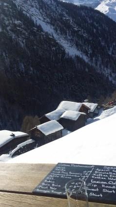 Le petit hameau de Findeln